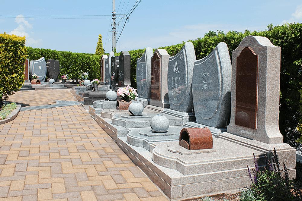 上田市公園墓地 エンゼルパークの家族墓区画