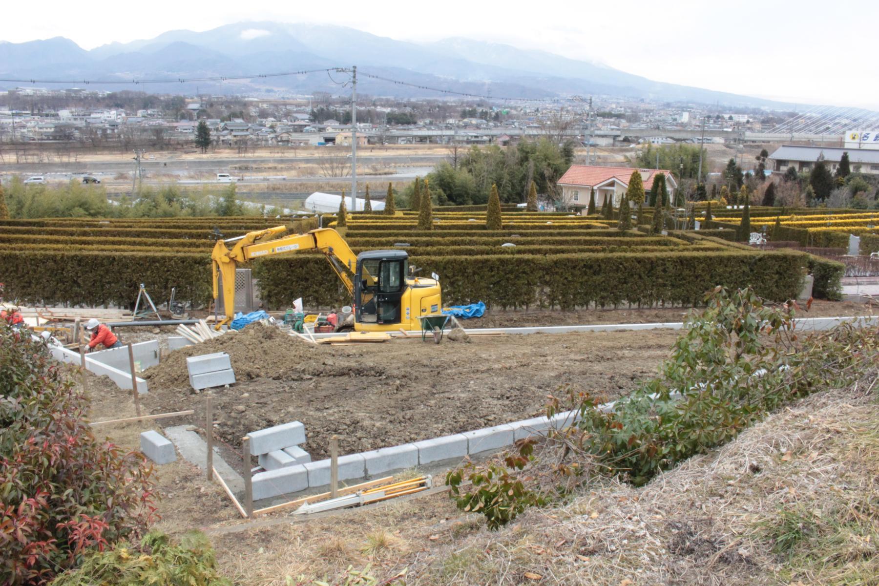 樹木墓(樹木葬)と永代供養墓区画工事の現場レポート