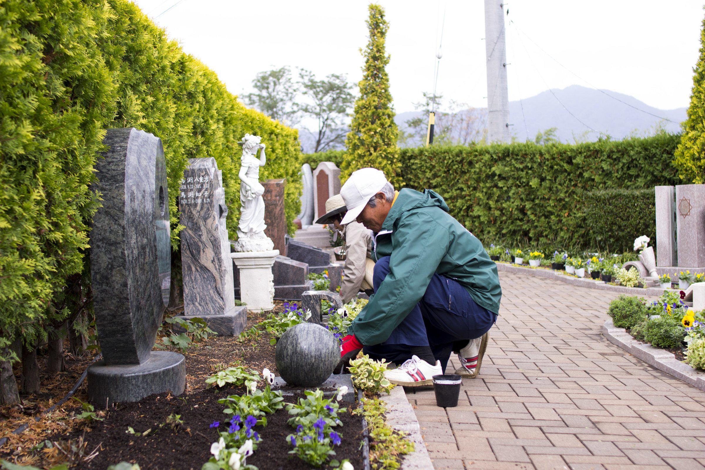毎日お参りしたくなる公園墓地 開園しました