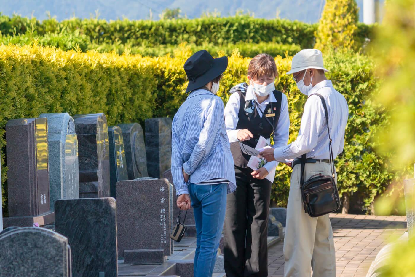 永代樹木墓の個別見学会