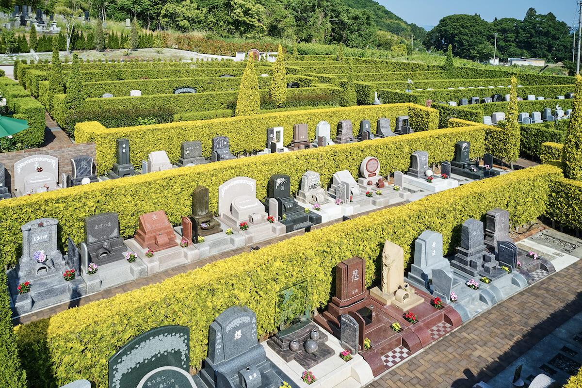 一般墓の区画